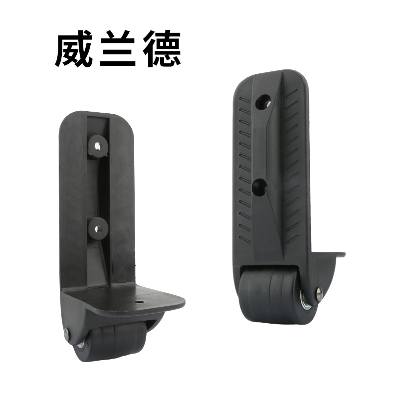 Replacement  Luggage  Casters  Repair Suitcase Accessories  Makeup Trolley  Damping Silent Wheel  Repair Mute  Fixed Wheels