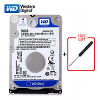 "WD Marke 500Gb 2,5 ""HDD SATA3 Interne Festplatte 500G HD Festplatte 5400-7200RPM blau festplatte für Laptop Kostenloser versand"