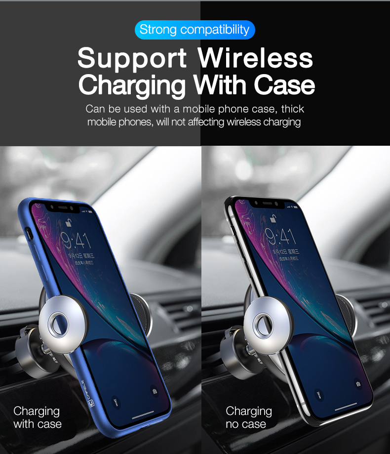 Car phone holder stand, wireless car phone charger (10)