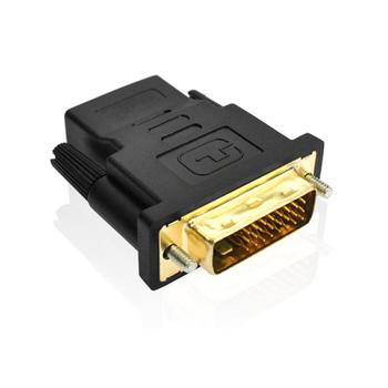 Adapter zgodny z DVI na HDMI dwukierunkowy DVI D 24 + 1 24 + 5 męskie złącze kabla konwerter zgodny z HDMI projektor HDTV tanie i dobre opinie CN (pochodzenie) Other NONE Dostępny w magazynie DVI Adapter Plastic Male-Female 1080P