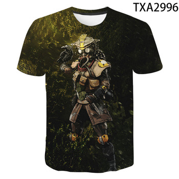 2020 New 3D T Shirts Casual Boy girl Kids Apex Legends Fashion Streetwear Printed T-shirt Men Women Children Cool Tops Tee 2
