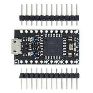 Image 3 - 100Pcs Met De Bootloader Nieuwe Versie Pro Micro ATmega32U4 ATMEGA32U4 AU 5V/16Mhz Module Controller (Hei)