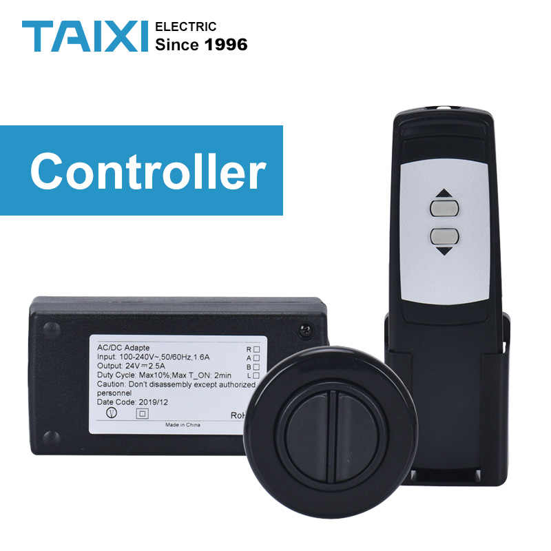 Attuatore elettrico Tenda Telecomando Interruttore di Sollevamento Automatico del Motore Regolatore Regolatore A Distanza Per Elettrico Ascensore