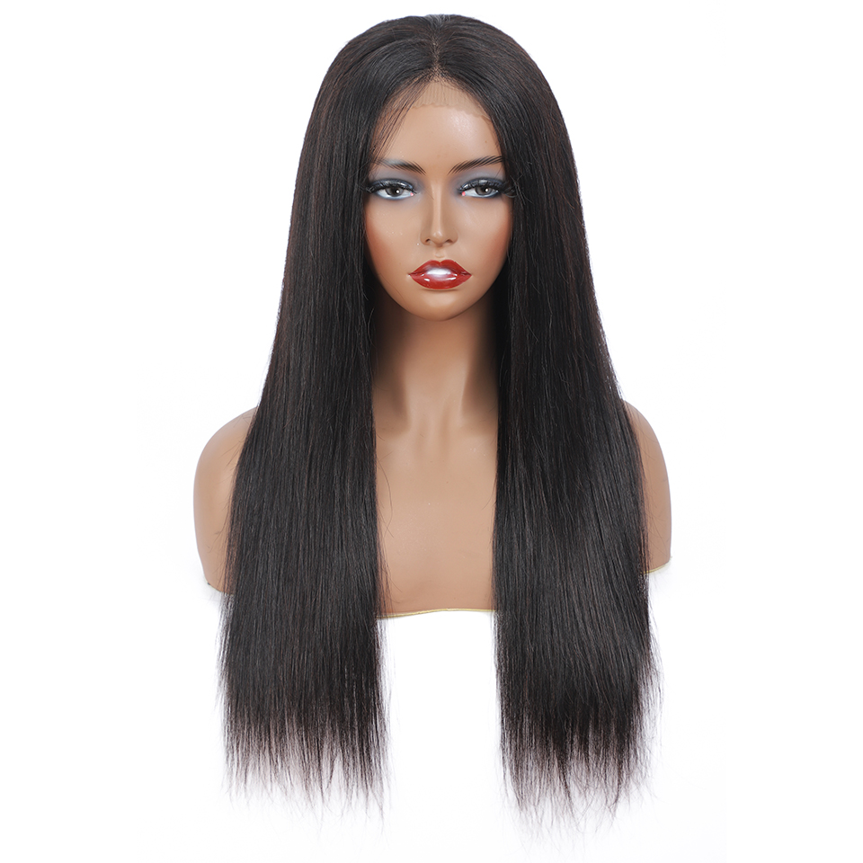 13x4 Straight Lace Front  Wigs brown Lace Frontal Wigs    Lace Wigs for Women 180 Density 4