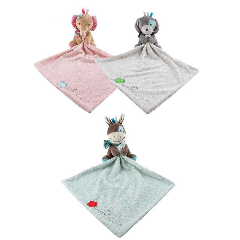 Marke Neue Infant Baby Kindergarten Kleinkind Sicherheit Cartoon Weiche Glatte Bad Tier Spielzeug Decke Cartoon Lätzchen Baby Infant Handtuch