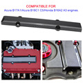 Carbon Faser Stil Motor Ventil Abdeckung Zündkerze Einsatz Für Honda Civic B Serie-in Motorraum aus Kraftfahrzeuge und Motorräder bei