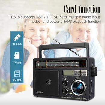 Радиоприемник RETEKESS TR618 AM/FM/SW MP3 TF/SD-Card 2
