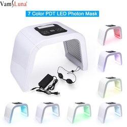 Lámpara LED PDT para terapia con luz de fotones para uso en el hogar, máscara de SPA PDT para belleza de cuerpo Facial, dispositivo eliminador de acné para apretar la piel