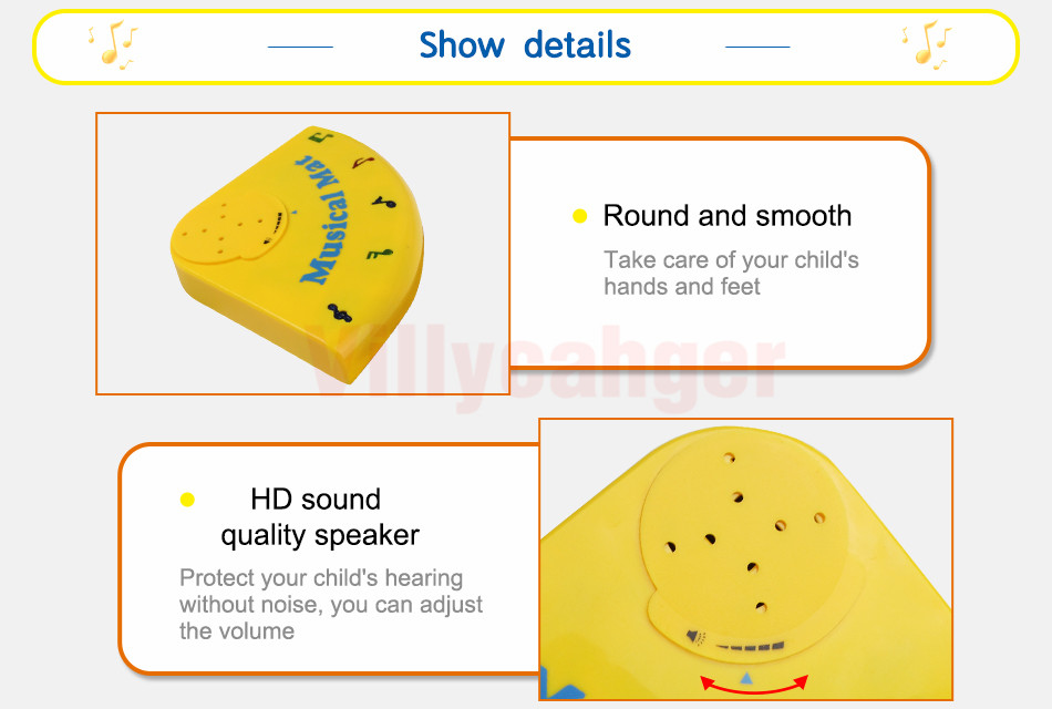 H710a40595aae4193a7c86ff235f0c278r 110x36cm Musical Piano Mat Baby Play Mat Toy Musical Instrument Mat Game Carpet Music Toys Educational Toys for Kids Xmas Gift
