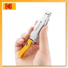 KODAK memoria USB 128 Mini K133 Unidad Flash USB de Metal, memoria flash de alta velocidad, 3,0 GB, 64GB, 32GB y 16GB