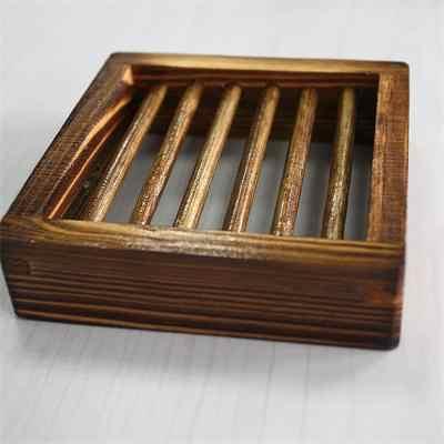 木製ナチュラル竹ソープディッシュトレイホルダー収納石鹸ラックプレートボックス容器浴室和風石鹸石鹸箱