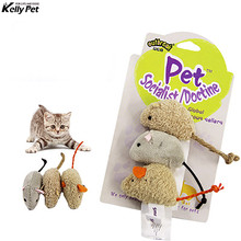 3pcs New plush simulation mouse cat toy plush mouse Cat scratch bite resistance interactive mouse toy palying toy for cat kitten все цены
