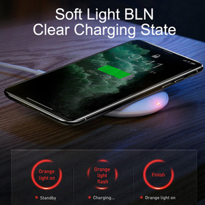 Image 5 - Baseus 15W Qi kablosuz şarj için iPhone 11 Pro X XS MAX XR hızlı kablosuz şarj Airpods için Pro samsung S9 S10 + not 9