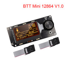 Bigtreetech mini 12864 v1.0 display lcd mini12864 tela peças de impressora 3d para skr v1.4 v1.3 skr pro mks gen vs tft35 voron 2.4