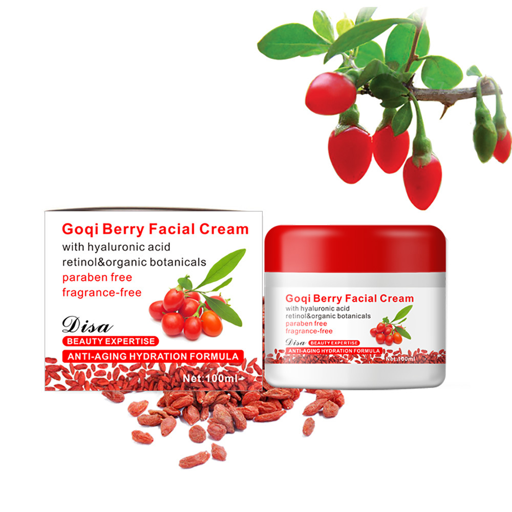 Goji Berry Facial Cream Anti-wrinkle Whitening Moisturizing Cream With Hyaluronic Acid Retinol & Organic Cream Face Skin Care