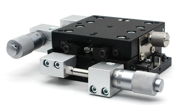 XY Axis 60*60mm Manual Displacement Platform Linear Stage Sliding Table XY60-LM/XY60-CM/ XY60-RM Cross Rail