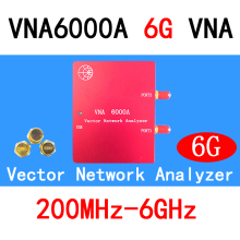 VNA6000A 200M-6GHz Vector Network Analyzer  RF Antenna Analyzer SWR/S11 S21 S12 S22/Smith