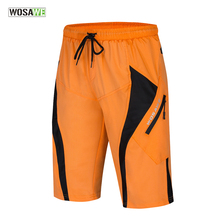 Shorts Underwear Cycling-Padded-Baggy Mountain-Bike Downhill Bermuda WOSAWE Men's