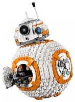 NEW 1238Pcs BB8 Star Wars Robot Set Genuine With Legoinglys Series 75187 75179 Set Building Blocks Bricks Toys StarWars