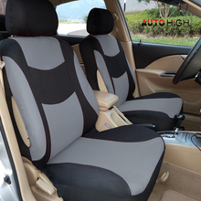Universal Car Seat Covers  Front Back Rear Headrests AUTOHIGH for Sedan Interior Decoration Automobile Protectors
