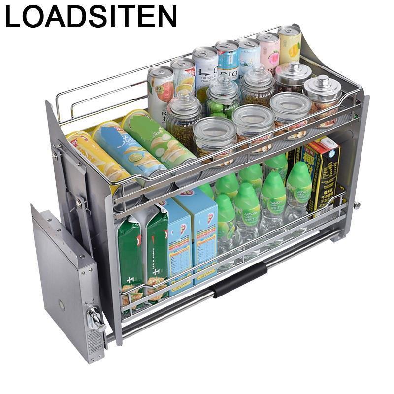 Gabinete Organizer And Storage Alacena Organizar Dish Drainer Pantry Drawer For Hanging Cozinha Cuisine Kitchen Cabinet Basket