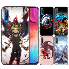 Black Silicone Case Cover for Samsung Galaxy M10 M20 M30 S8 S9 S10 S10e 5G J8 10 5G Note 8 9 10 Plus 2018 S7 Edge Yu GI OH(China)