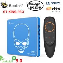 Beelink GT King Pro Amlogic S922X H Android 9.0 Smart Tv Box DDR4 4GB 64GB 2.4G 5.8G Wifi 1000M 4K Media Player VS AM6 PLUS