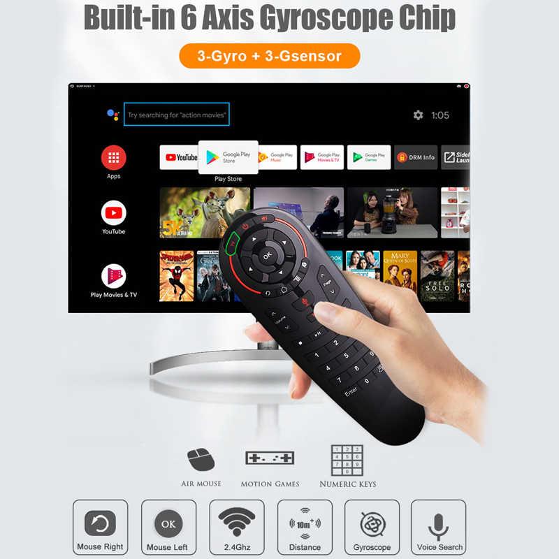 G30 Google Voice Air mouse g30s 2,4 ГГц беспроводной пульт дистанционного управления поиск помощник air mouse для Xiaomi X96max Mag 232 HTv 5 Tv Box