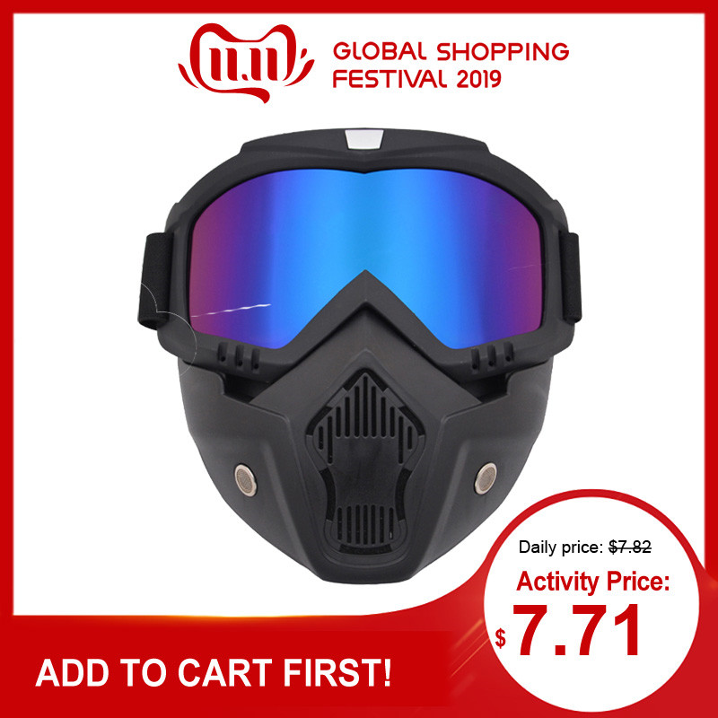 Outdoor Paintball Mask Airsoft Safety Protective Masks Tactical Full Face Helmet Paintball Mask Anti-fog Goggle Game Protection