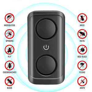 Repeller-Device Cockroach Ultrasonic Mouse Pest-Control Insect Spiders Mosquito-Killer
