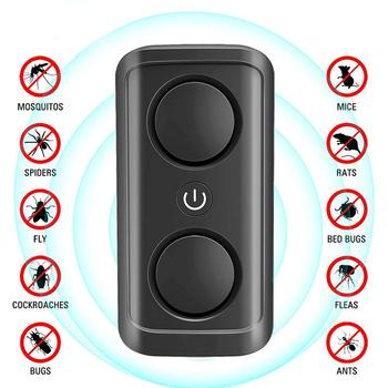 Pest Reject Ultrasonic Mouse Cockroach Repeller Device Insect Eats Spiders Mosquito Killer Pest Control Household Pest clean eats