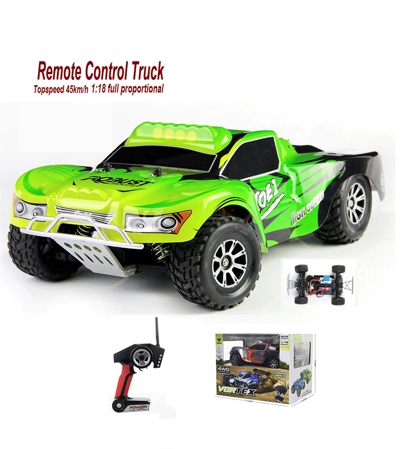 RC Car 4WD Truck Drift 1:18 45 KM/H EU 2.4GHz Radio Controlled Racing Boys Toys High Speed Rc Cars 4wd off Road Wltoys A969 Kits