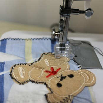 Domestic sewing Satin Stitch Foot presser foot 7303 embroidery foot image
