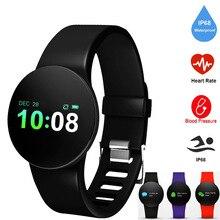 Smart Watches IP67 Watch Band Waterproof Heart Rate Blood Pressure Bluetooth Sport Smartwatch for iPhone Apple Android IOS цена в Москве и Питере