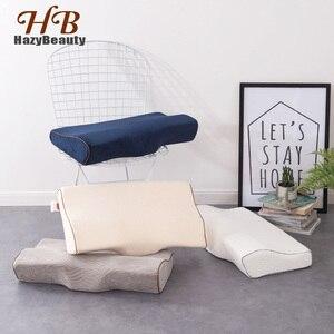 Image 1 - Ортопедические подушки для шеи, ортопедические подушки из латекса, спальная подушка из пены с эффектом памяти