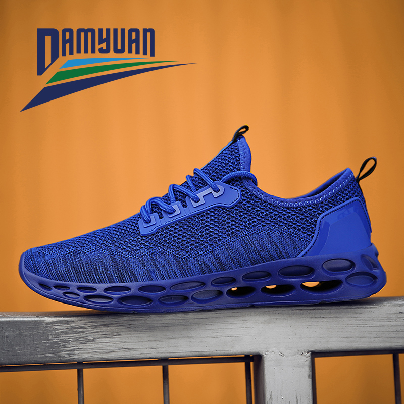 Damyuan Running Shoes Fashion Casual Summer Men Sports Shoes Comfortable Breathable Non-slip Wear-resistant Men's Sneakers