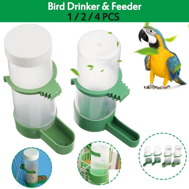 4.5L Water Dove Drink Dispenser Pigeon Birds Canary Drinker Feeder Supplies Hot