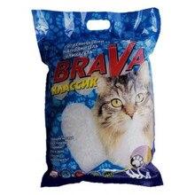 Наполнитель для кошачьего туалета Brava Классик, силикагелевый, 10л