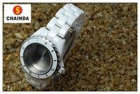 Keramik Schwarz oder Weiß Uhr Lünette Ring und Band Set passt J12 für Uhr Ersatz-in Reparatur-Werkzeuge & Kits aus Uhren bei