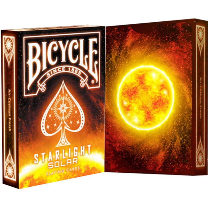 1 Deck BICYCLE Cards STARLIGHT SOLAR Playing Cards Regular Bicycle Deck Rider Back Card Magic Trick Magic Props