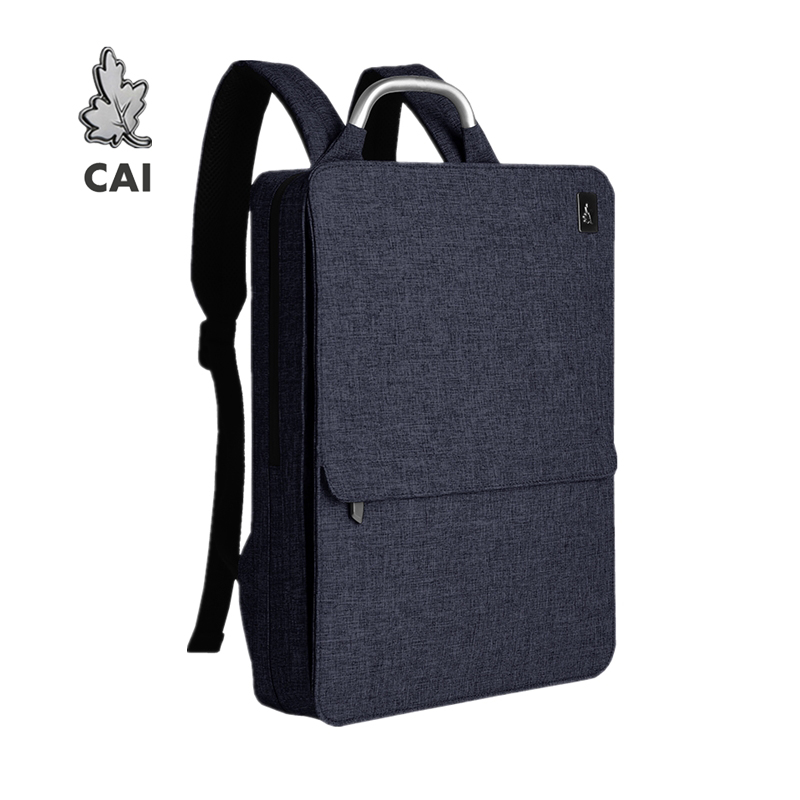 CAI 2019 Waterproof Fashion Men Backpack Minimalism Back Bag 14