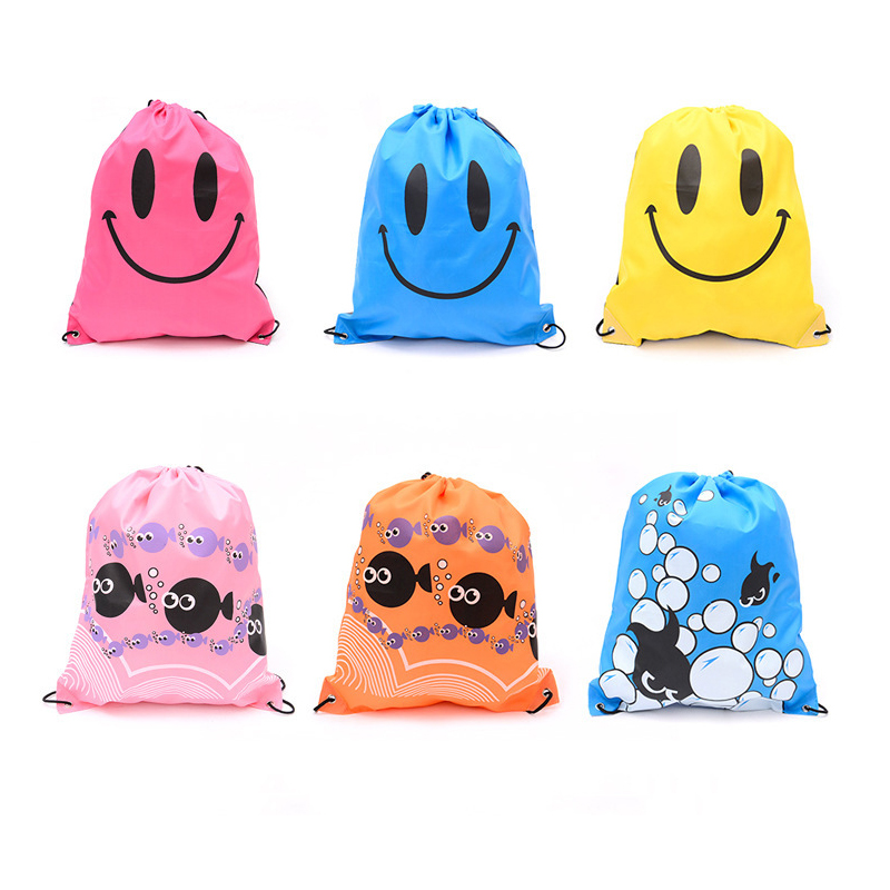 Multi Color Portable Waterproof  Swimming Backpack  Drawstring Shoulder Bag Double Layer Sport Bag For Water Sports Travel Bag