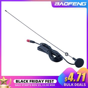 Baofeng+Radio+Voiture+Antenne+UT-108UV+Gain+SMA-F+UHF+VHF+Support+Magn%C3%A9tique+pour+Talkie-walkie+UV-5R+BF-888S+UV-5RE+UV-82