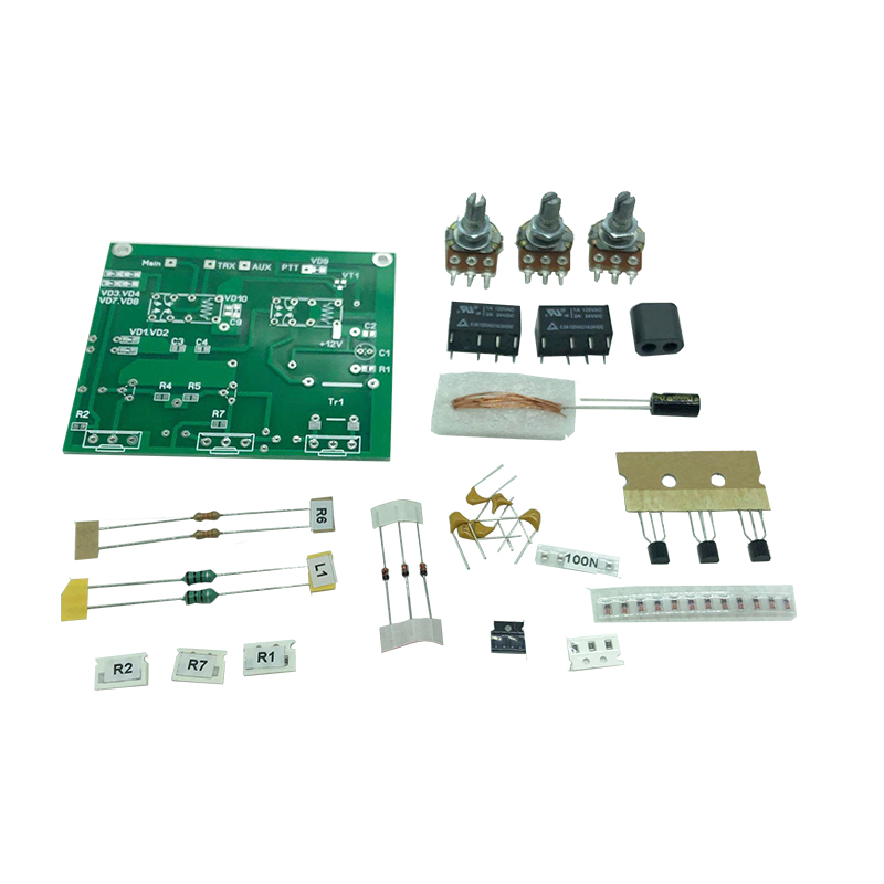 Latest Version QRM Eliminator X-Phase 1-30MHZ HF Bands Amplifier Parts Kit