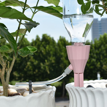 Adjustable plant Drip irrigation system DIY Plant Waterers dripping conical automatic indoor flower pot watering 1pcs 4 pcs adjustable automatic plant waterers drip irrigation plant waterer accessories water seepage device houseplant watering
