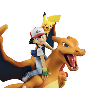 Image 4 - サトシとメガリザードンナキウサギ Lizardon アクションフィギュアプラモデル pkm アニメフィギュアコレクションおもちゃギフト子供のための