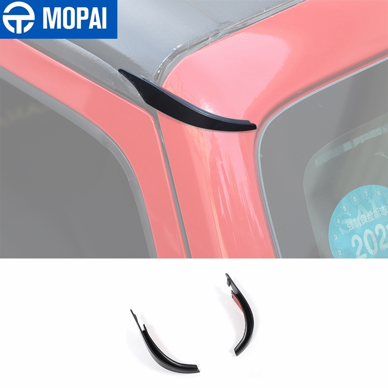 MOPAI Car Roof Drain Rainwater Diversion Assist Extension Drainage Catheter External Accessories for Jeep Wrangler JK 2007-2017