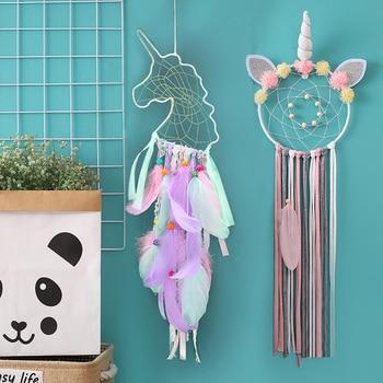 unicorn dream catcher  room decoration nursery decor bedroom girls valentines day gift
