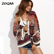 ZOGAA Cardigan Female Boho Sweater Autumn Winter Long Sleeve Tassel Jumper Knit Cardigans Coat Women Fashion Oversize