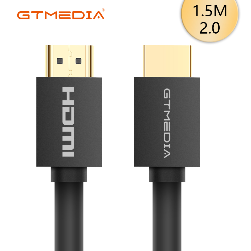 NEW HDMI Cable 2.0 1080P 4K 3D HDMI To HDMI Connector Adapter For PC HDTV Projector Hdmi Switcher Splitter Ps3/4 1.5m 1m 2m 3m